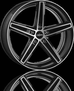 OXIGIN Concave 18 Black Full Polish
