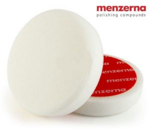 MENZERNA Hard White Foam Pad 150mm VAAHTOMUOVILAIKKA