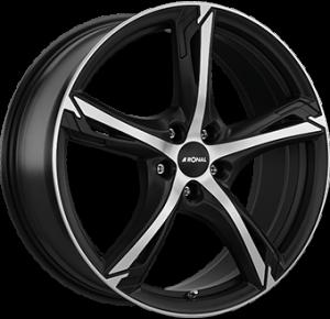 RONAL R62 Dull Black / Polished